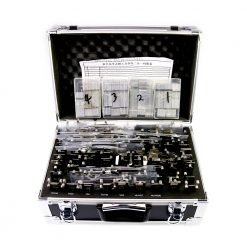 Original Lishi 2in1 Decoder and Pick - 102 Pieces Full Set with Toolbox